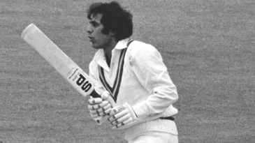Haroon Rasheed was bowled for 15 by Chris Old