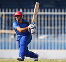 Karim Sadiq hit five fours, Afghanistan v Kenya, ICC World Twenty20 Qualifier, Group B, Sharjah, November 24, 2013