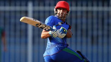 Noor Ali Zadran scored 50