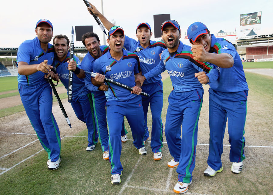 Afghanistan Cricket Team Zoom Background 6