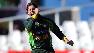 Anwar Ali picked up two wickets on his ODI debut
