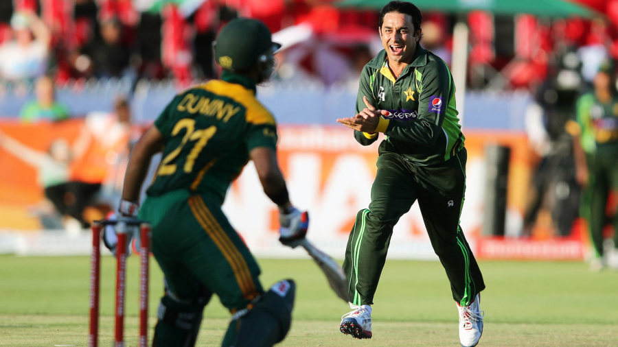 Saeed Ajmal notched two scalps