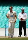 Nathan Hauritz celebrates a wicket, New South Wales v Queensland, Sheffield Shield, Sydney, 4th day, November 25, 2013