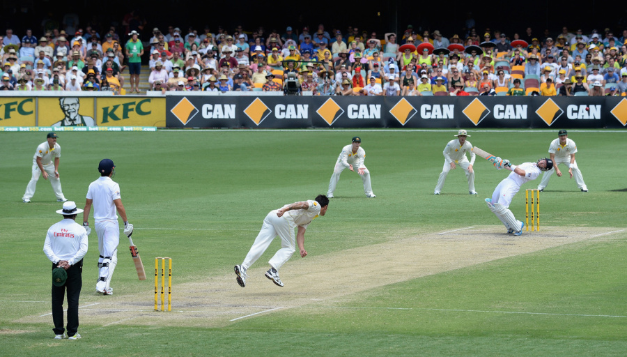 Warning, Bell: England's No. 5 gets a wake-up call in Brisbane, 2013