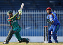 Rakep Patel plays a sweep shot during his innings of 52, Afghanistan v Kenya, ICC World Twenty20 Qualifier, Group B, November 24, 2013