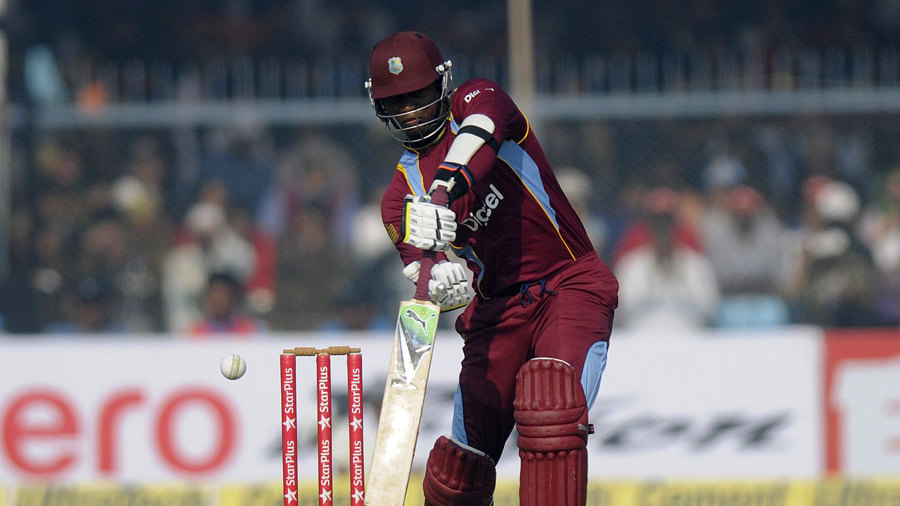 Marlon Samuels notched his 23rd ODI fifty