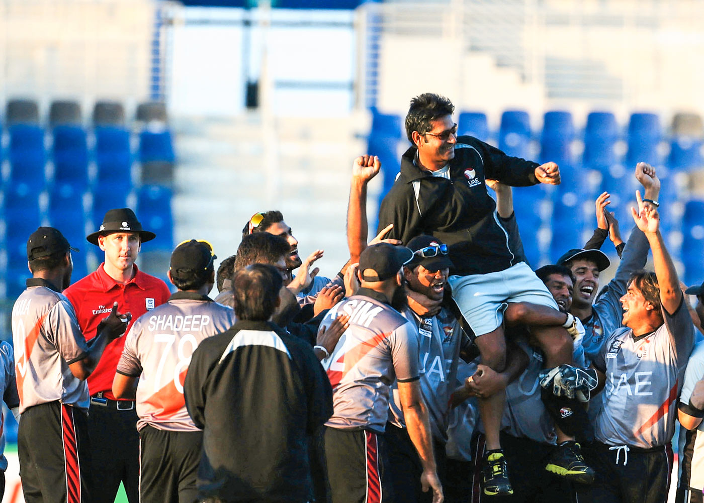 Aaqib's bunch: under Javed, UAE have qualified for a World T20 and a World Cup, and the coach has his eye on Test qualification next