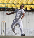 Vikramjeet Malik gets ready to release the ball, Assam v Himachal Pradesh, Ranji Trophy, Group C, Dharamsala, 1st day, November 28, 2013