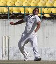 Vikramjeet Malik gets ready to release the ball, Assam v Himachal Pradesh, Ranji Trophy, Group C, Dharamsala, 1st day, November 28, 2013