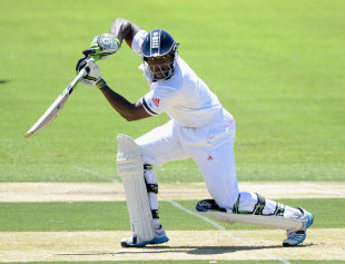 Michael Carberry made only 6, Cricket Australia Chairman's XI v England XI, Tour Match, Alice Springs, November, 29, 2013