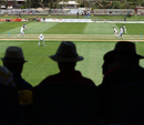 A view of the action from the stands, CA Chairman's XI v England XI, Tour match, Alice Springs, November 29, 2013