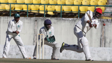 Bipul Sharma hits out during his unbeaten 102