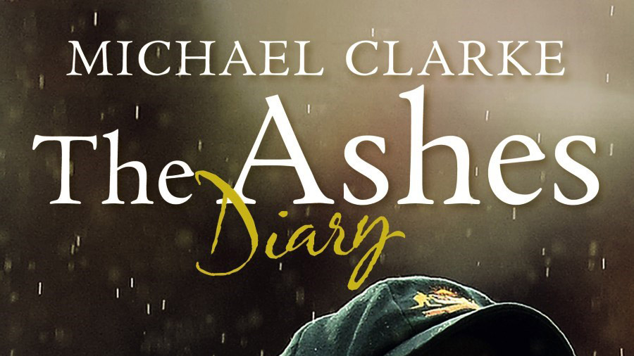 Cover of <i>The Ashes Diary</i> by Michael Clarke