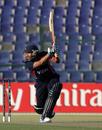 Anil Mandal struck a couple of boundaries at the death, UAE v Nepal, ICC World Twenty20 Qualifiers, 3rd place play-off, Abu Dhabi, November 30, 2013