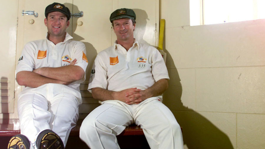 Steve and Mark Waugh