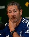 Graham Gooch speaks to the media, Adelaide, December 2, 2013