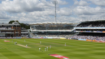A CGI of the new Warner Stand at Lord's