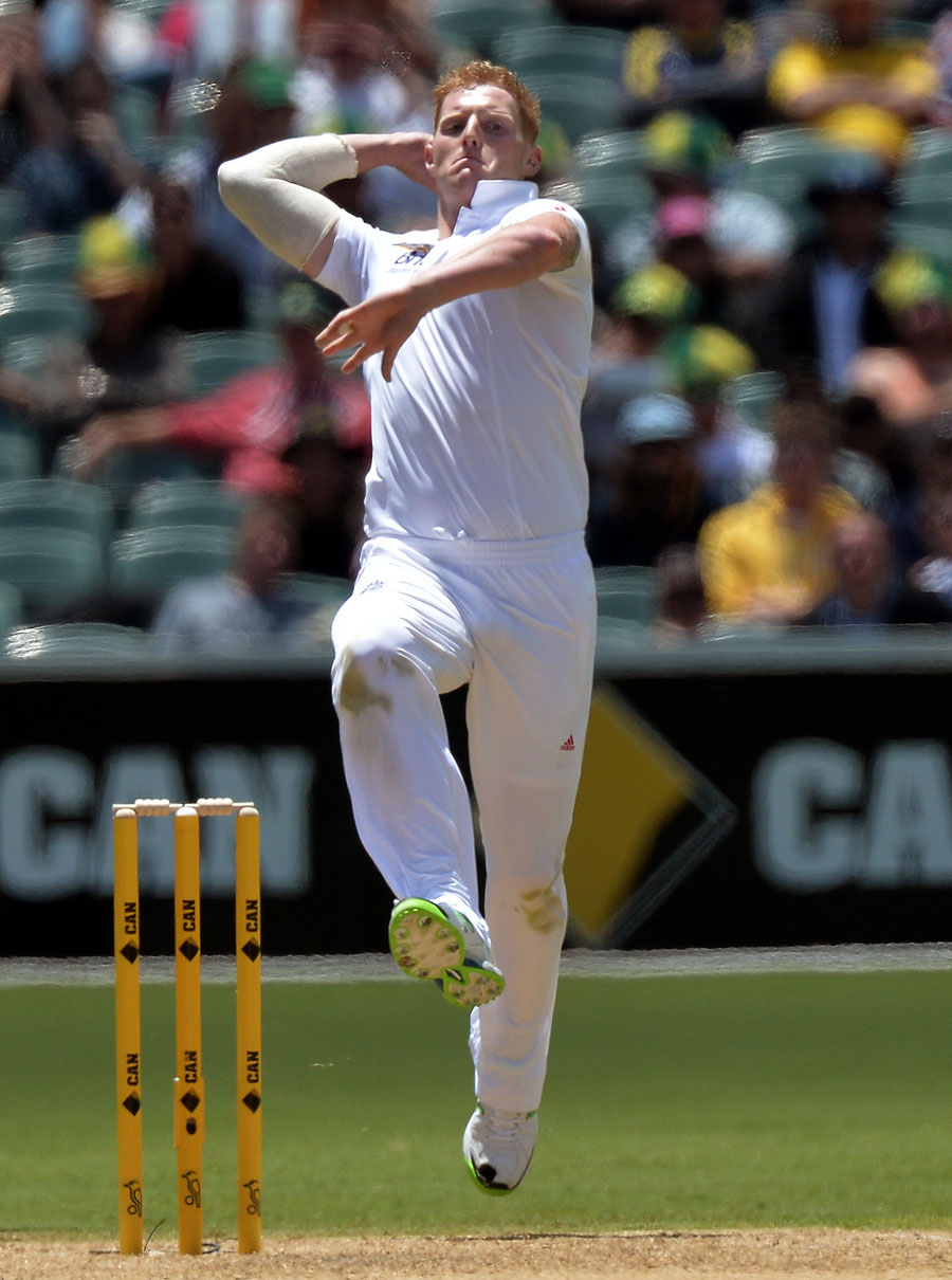 Ben Stokess Opening Five Overs In Test Cricket Cost  Cricket Photo Espn Cricinfo