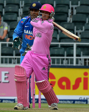 Pink wasn't pretty for India: Quinton de Kock punished the Indian bowlers