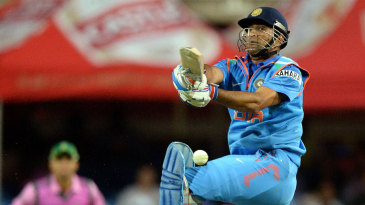 MS Dhoni top-scored with 65