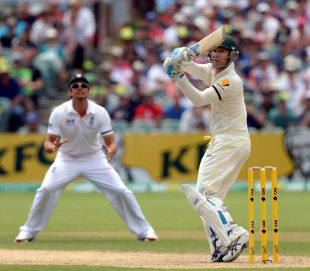 Michael Clarke took the game away from England with 148, Australia v England, 2nd Test, Adelaide, 2nd day, December 6, 2013