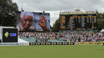 Adelaide offered a minute's silence for Nelson Mandela