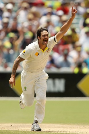 Mitchell Johnson destroyed England with his post-lunch spell