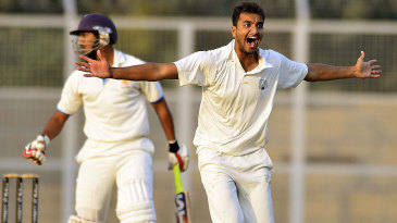 Harshal Patel's five-wicket haul led to Karnataka's collapse