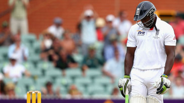 Michael Carberry reflects on his poor error