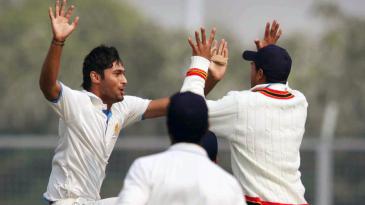 Ronit More's five helped Karnataka run through Haryana