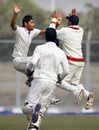 Ronit More's five helped Karnataka run through Haryana, Haryana v Karnataka, Ranji Trophy, Group A, Lahli, 3rd day, December 8, 2013
