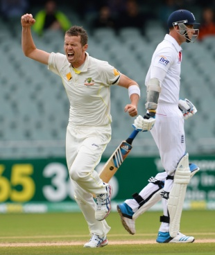 Peter Siddle finished with 4 for 57 in the second innings