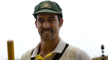 Mitchell Johnson was named Man of the Match for his first innings 7 for 40