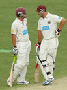 Joe Burns and Luke Pomersbach added 193 for the opening wicket, Queensland v Victoria, Sheffield Shield, Brisbane, 3rd day, December 10, 2013