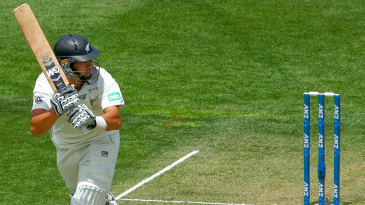 Ross Taylor turns one square on the leg side