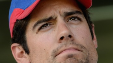 Alastair Cook on the eve of the third Test
