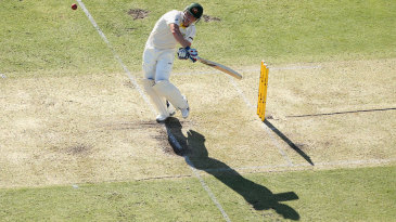 Brad Haddin miscued a hook off Ben Stokes