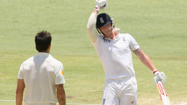Ben Stokes progressed to his maiden Test hundred but couldn't deny Australia