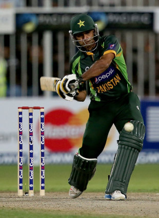 Mohammad Hafeez's century set up a match-winning total