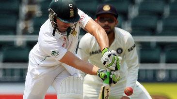 AB de Villiers scored his 18th Test century