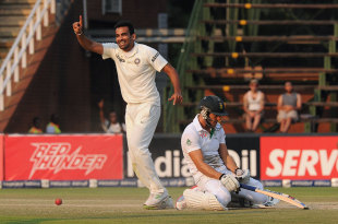 The end of an unforgettable 134 from Faf du Plessis
