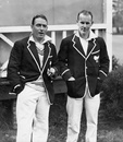 Stewie Dempster and GL Weir on New Zealand's 1931 tour of England, 1931