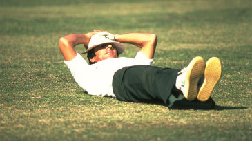Majid Khan relaxes