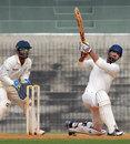 Ashok Menaria struck a brisk 62, Tamil Nadu v Rajasthan, Ranji Trophy 2013-14, Group B, 3rd day, Chennai, December 24, 2013