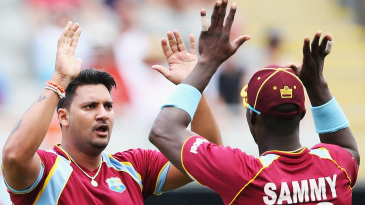 Ravi Rampaul dismissed the New Zealand openers