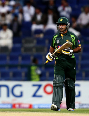 Mohammad Hafeez made it three centuries in four games