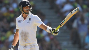 Kevin Pietersen made a battling half-century