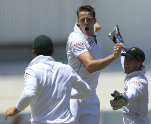 Morne Morkel took the only wicket that fell on the first day