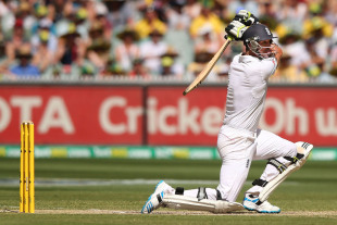 Kevin Pietersen played his second important innings of the match, Australia v England, 4th Test, Melbourne, 3rd day, December 28, 2013