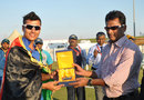 Left-arm spinner Zia-ur-Rehman won the Man-of-the-Match award for his five-for, Afghanistan Under-19 v Sri Lanka Under-19, Under-19 Asia Cup, Abu Dhabi, December 28, 2013